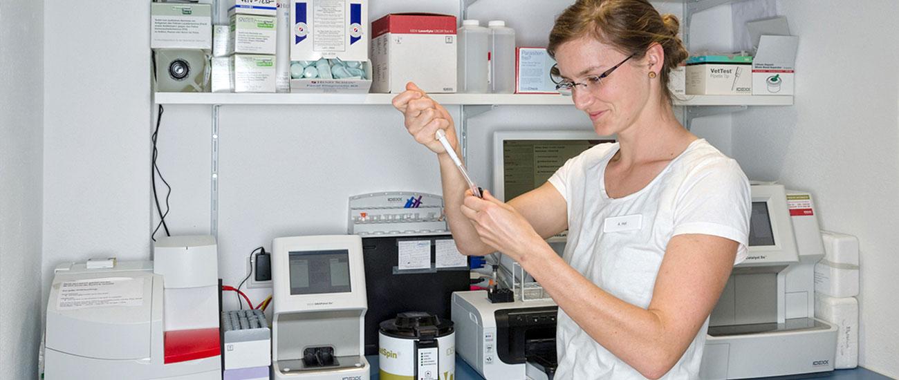 Labor der Kleintierpraxis Buscher
